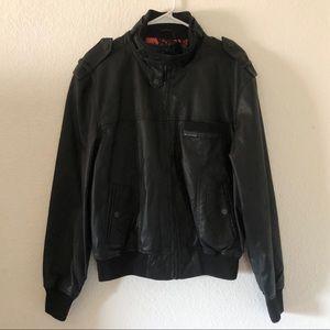 Lira faux leather jacket
